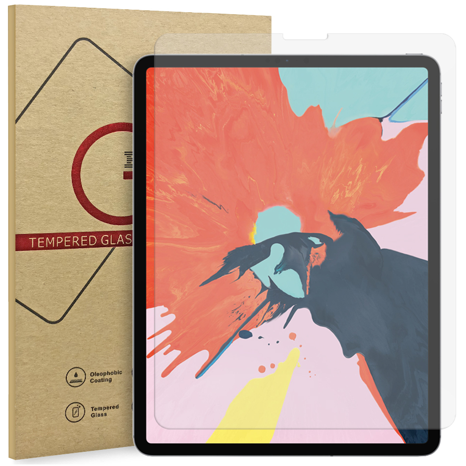 Tempered Glass Screen Protector - 2018 Apple iPad Pro 12 9 Inch